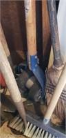 Estate lot of yard hand tools