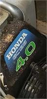 Honda GC 135 4.0 7 blade reel trimmer w basket