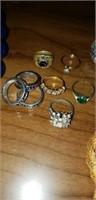 Estate lot of costume jewelry