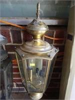 Pair of Outdoor Decorative Light Fixtures
