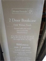 Brand New 2 Door Bookcase in the Box
