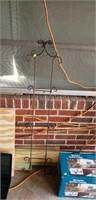 Modular buffet caddy, iron wall plate holder