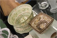 Temp-Tations Cake Plate & Bowls