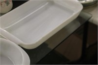 Glass Bake & Fire King Baking Dishes