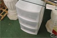 Organizer & Metal Corner Shelf