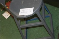 """Metal Stool 18"""" tall is seat height"""