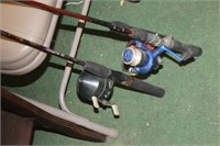 Lot of Fishing Rods & Reels