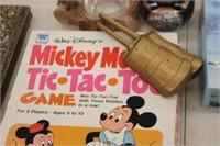 Mickey Mouse Tic Tac Toe,Ash Tray,etc