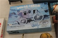 Stage Coach Wooden Wagon Kit