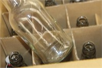 Box of Bottles with Stoppers