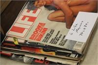 Lot of 6 Vintage Life Magazines