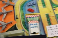 Ideal Toys International Airport w/Origional Plane
