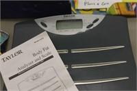 Taylor Body Fat Analyzer & Scale