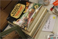 Lot of Cookbooks