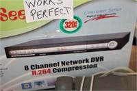 8 Channel Network DVR