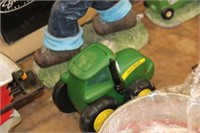 John Deere Push tractor toy