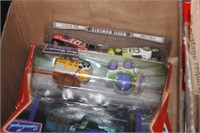 Box of Diecast Cars & Toys