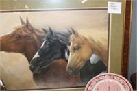 Home Interior Horse Print, 39x27