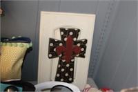 Wooden Cross Hanging Decor