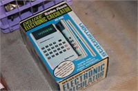 Vintage Deluxe Electronic Calculator