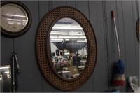 Oval Mirror, 30x23