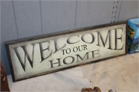 Welcome to our Home Wood Decor