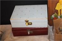 2 Jewelry Boxes
