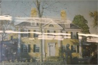 Antique Frame House Picture,