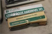 Lot of Storm Door Hardware