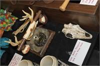 Deer Antler Phone & Skull