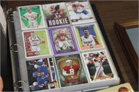 Book of Various Sports Cards