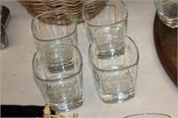 Set of 4 Jack Daniels Glasses