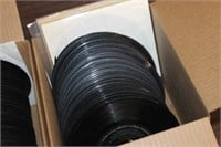2 Boxes of 45 RpM Records