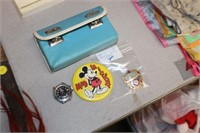 Russian USSR Medal ,Mickey Mouse Pin,etc