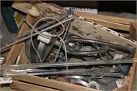 Crate of Misc,Hardware,etc