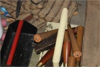 Lot of Various Table Legs