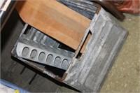 Vintage Metal Milk Crate,etc