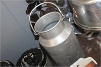 Vintage Metal Creamer Can
