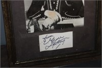Gene Autrey Signed Print