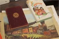 Vintage Books,Wringly Brothers Print,etc