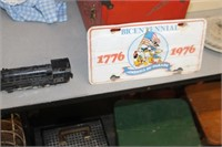 Toy Train & Bicentenntial Tag