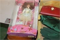 Jewel Princess Barbie,Pocket Books & Doll