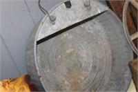Vintage Metal Oil Pan