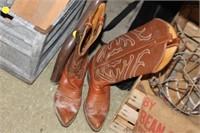 Pair of Tony Lama Boots