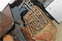 Crate of Vintage Items