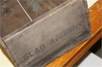 Vintage Wooden Apricot Box
