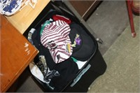 Tote of Various Concert T-Shirts,etc