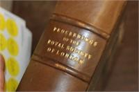 Precedings of Royal Society of London Book