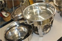 Lot of Chaffing Dishes