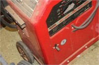 Lincoln AC -225 Arc Welder with Rods,Leads,Wheels